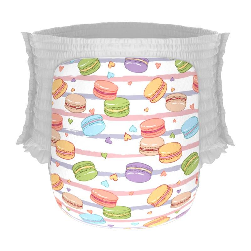 Happy Diapers Pant Popok Bayi - Macaroons [Size XL/22 pcs/A11]