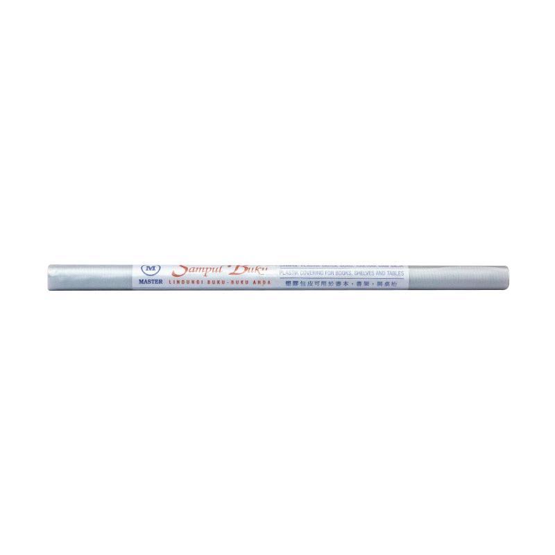 Master Plastik Mika Emboss Roll Sampul Buku [46 x 300 cm]