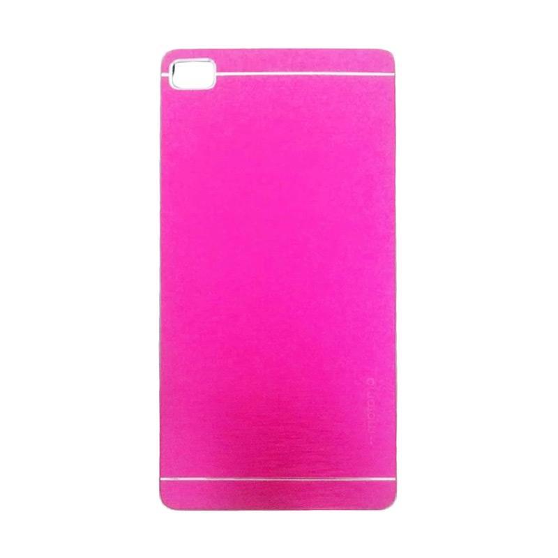 Motomo Metal Hardcase Casing for Huawei P8 Lite - Pink