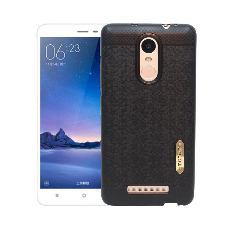 Motomo Softcase Casing for Xiaomi Redmi Note 3 - Black