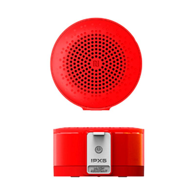 Auluxe X3 NFC Jello Portable Bluetooth Speaker - Red