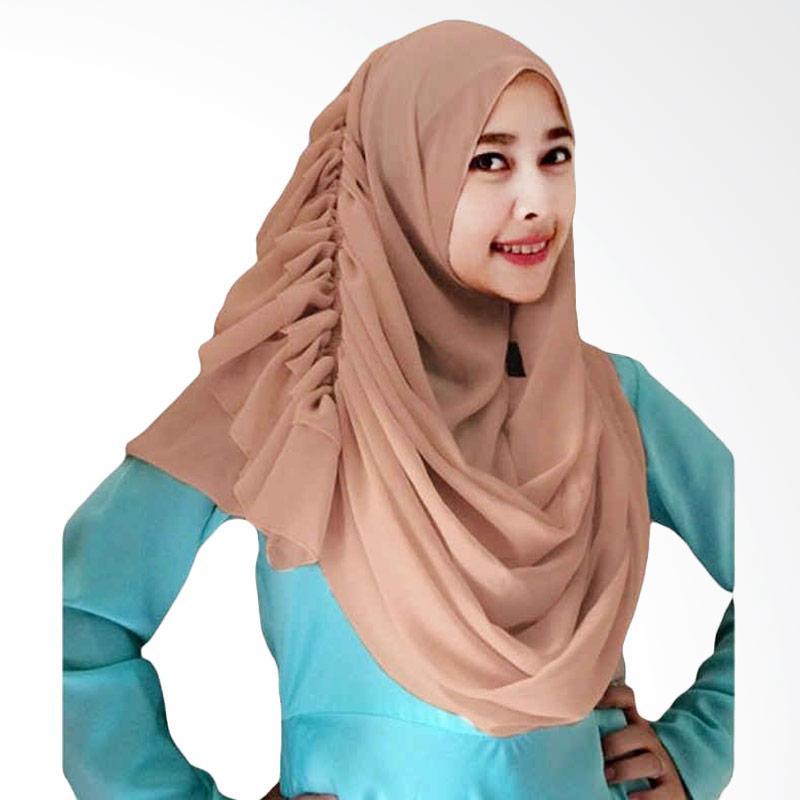 Kus Group Hijab Cassanova Kerudung - Coklat Muda