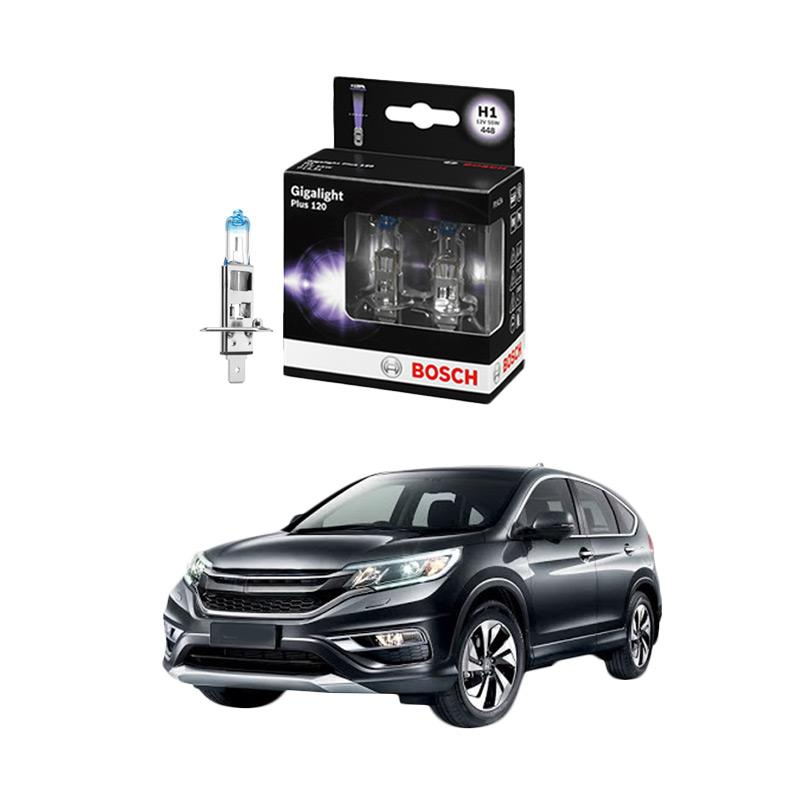 Bosch H1 Gigalight Bohlam Lampu Mobil For CR-V 2.4 I 4WD Tahun 2004 - 2005