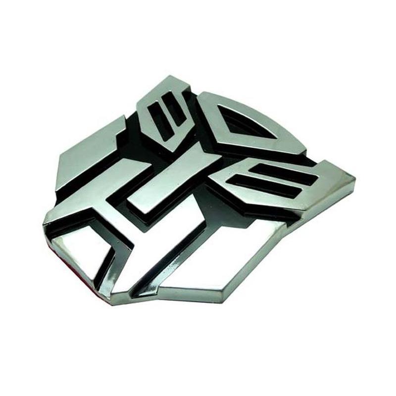 Gonzie Speed Transformer Autobots Plastik Emblem - Croom