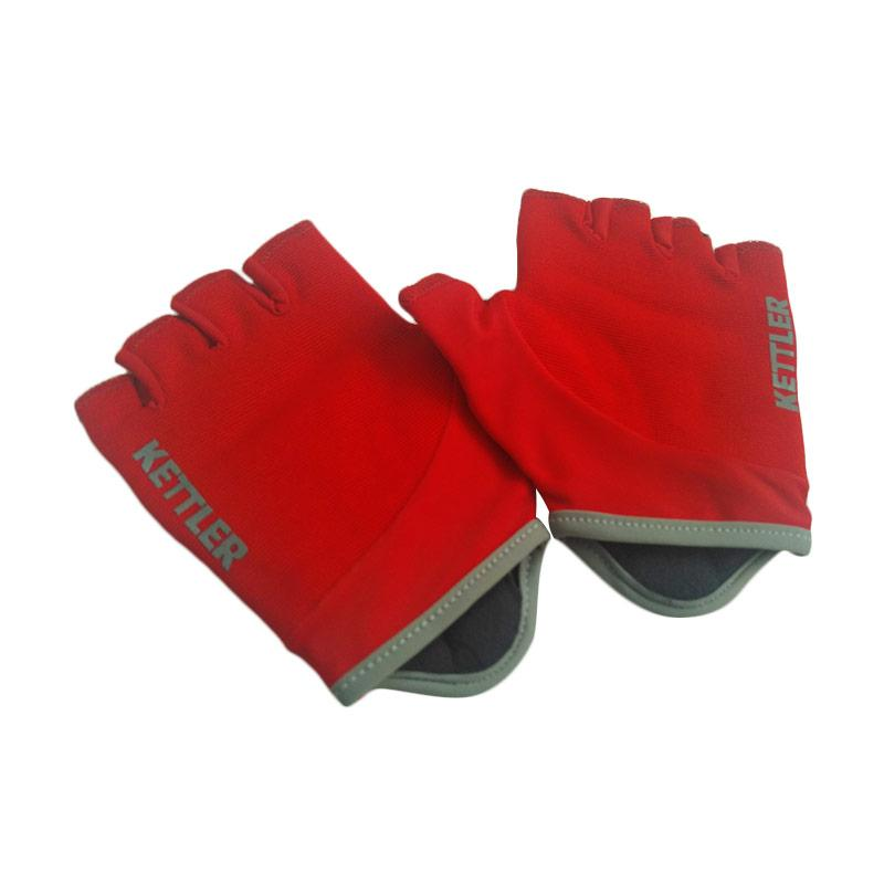 Kettler Multi Purpose Training Gloves RD/GRY