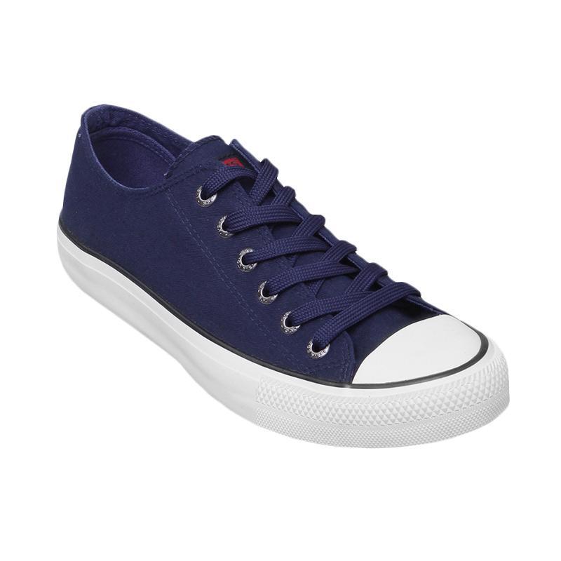 harga Levi's Sneaker Dunk Pitch Low Cut Sepatu Pria - Navy Blibli.com