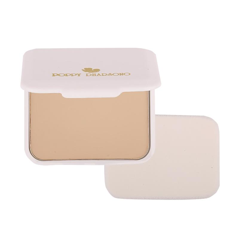 Poppy Dharsono Absolute Cover Two Way Cake Powder - 03 Cosmic Latte