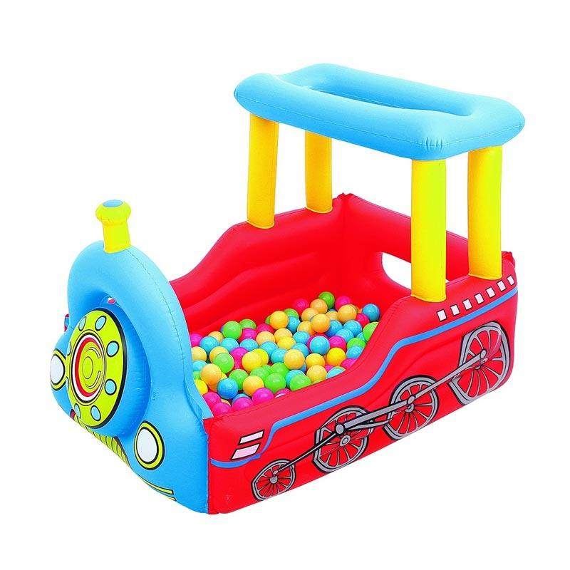 Bestway Splash And Play Kereta Mainan Mandi Bola Anak