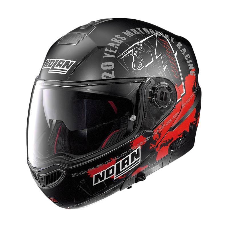 harga Nolan Absolute Iconic Replica N104 - 58 Helm Full Face - Flat Black Blibli.com