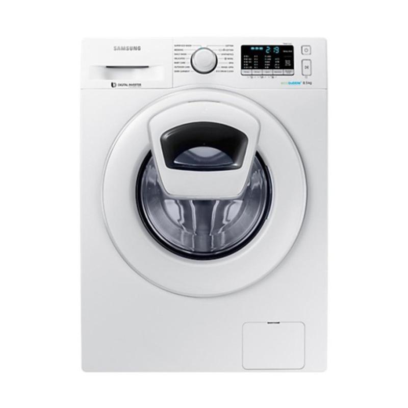 Samsung WW85K5410WW Front Loading Washing Machine - White [8.5 kg]