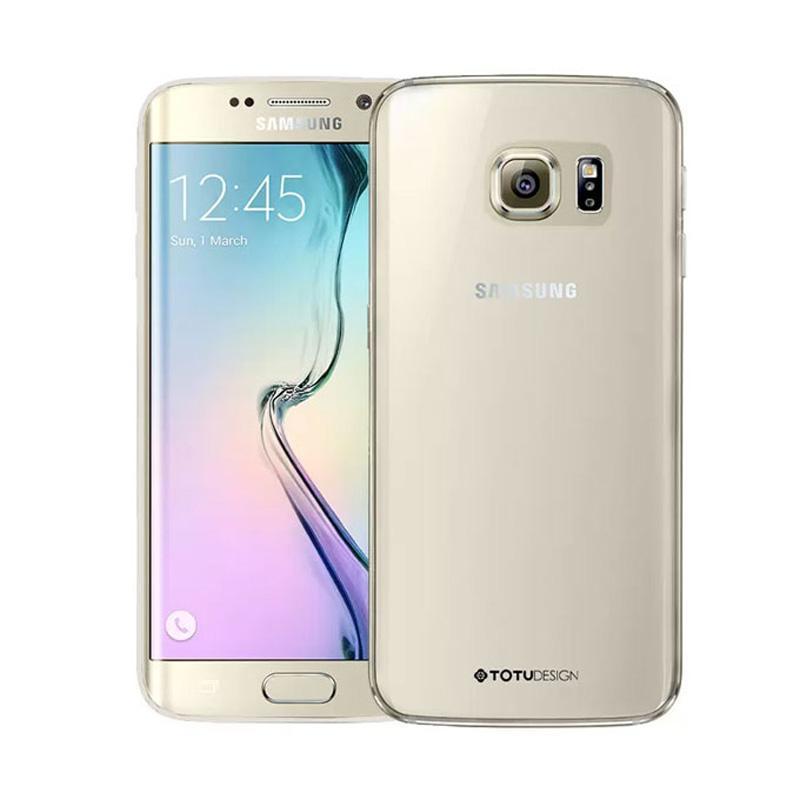 TOTU Crystal Casing for Samsung Galaxy S6 Edge - Clear