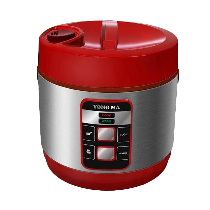 Yong Ma YMC 114 Eco Ceramic Coating Magic Com Rice Cooker - Red