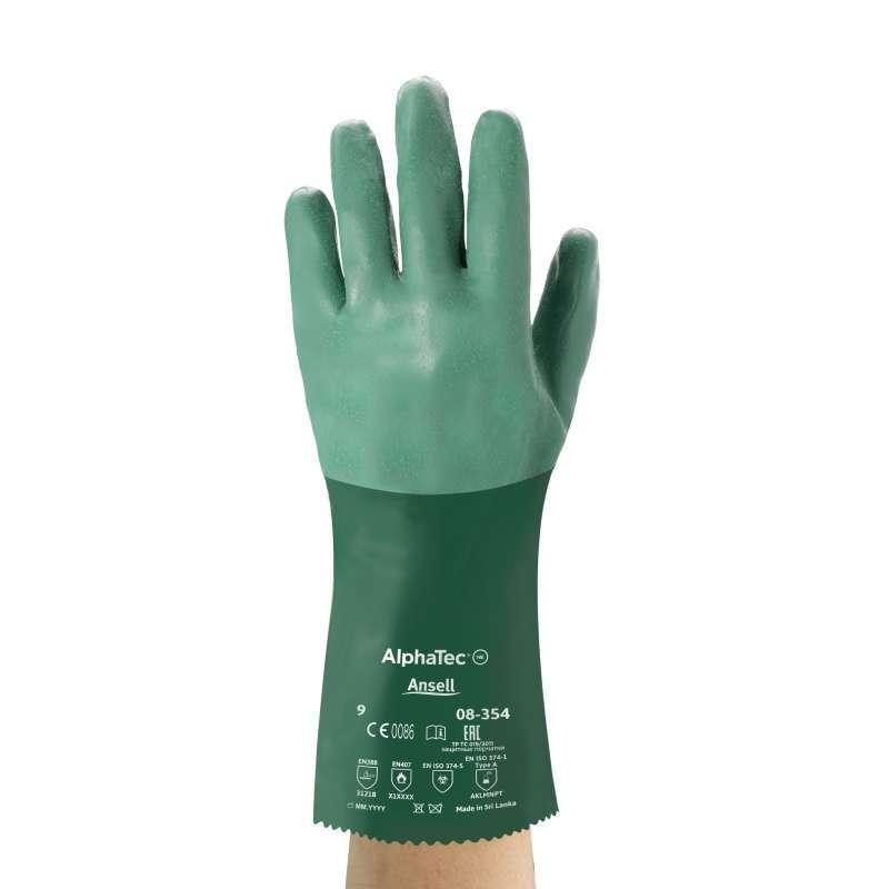 Jual Sarung Tangan Anti Cairan Kimia Ansell Scorpio 08 354 Size 9 Online Desember 2020 Blibli
