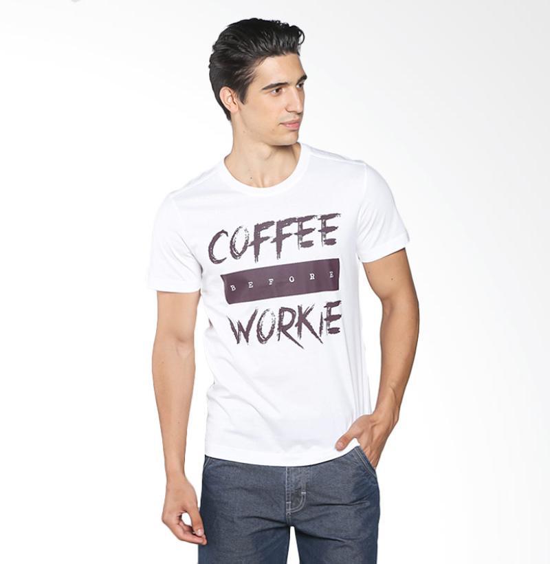 BOMBBOOGIE 12738B5OW Inspired Me Tee Kaos Pria - Off White Extra diskon 7% setiap hari Extra diskon 5% setiap hari Citibank – lebih hemat 10%