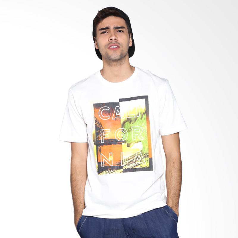 Ocean Pacific Fashion 03MTF89146 Mens T-Shirt - Off White