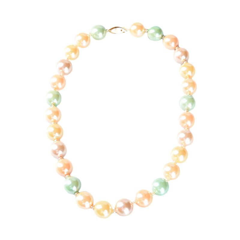 1901 Jewelry KL01.PD.351 Pearlicious Necklace - Multicolor