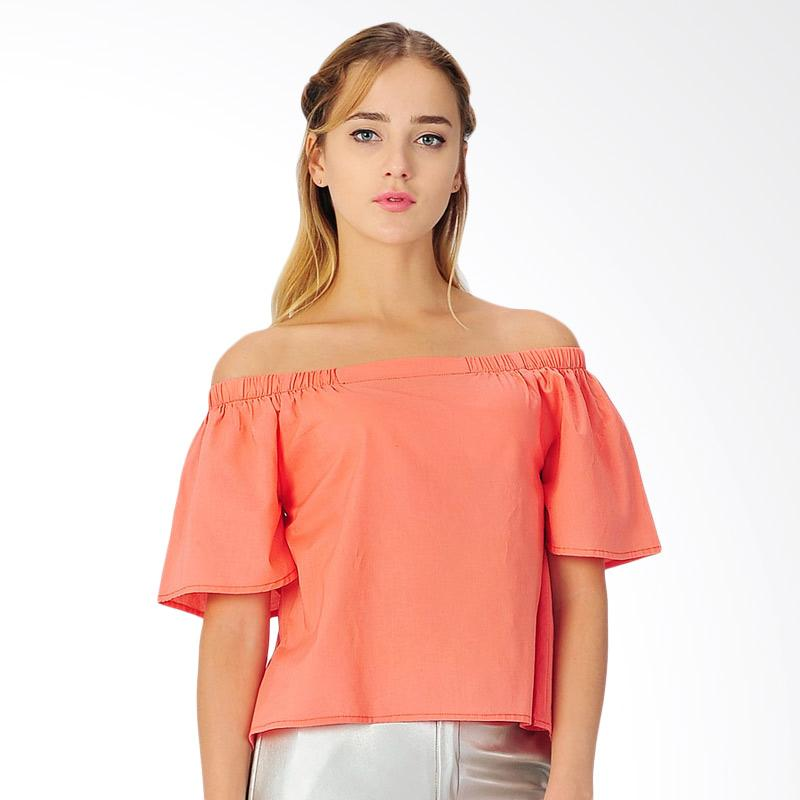 Sjo & Simpaply Hamsen Women's Blouse - Orange
