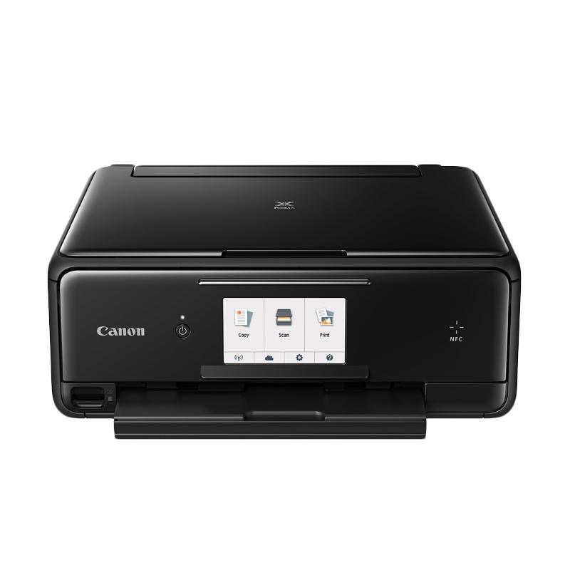 harga Canon PIXMA TS8070 Multifunction Inkjet Printer - Black Blibli.com