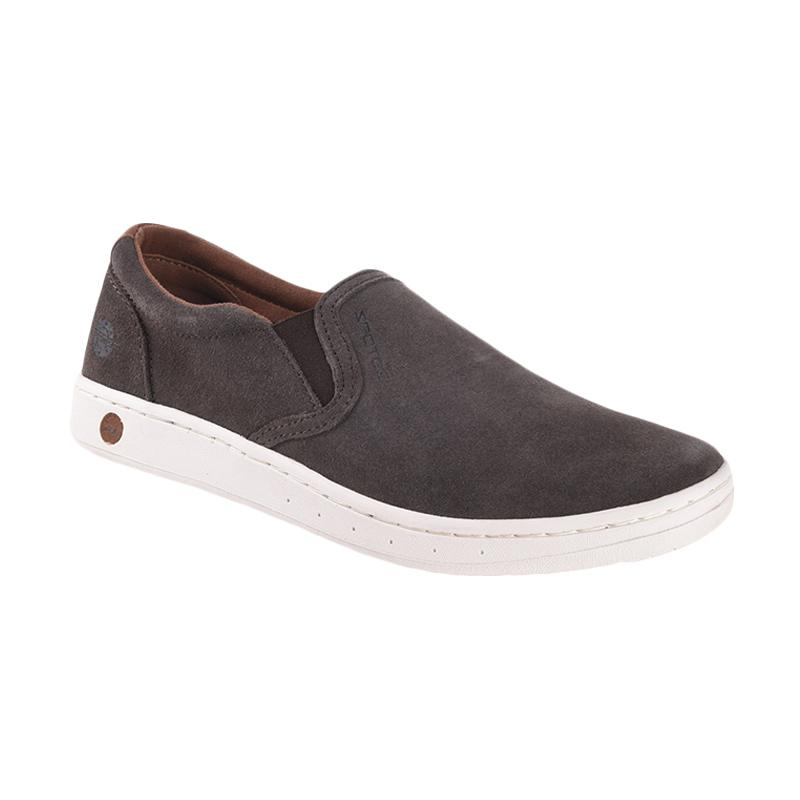 Spotec Futton Leather Sneaker Shoes - Brown White [BRW 37]