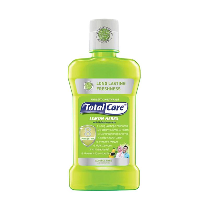 Total Care Mouthwash Lemon Herb 8 Protection [500 mL]