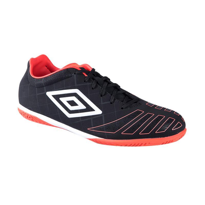 HUT BRI - Umbro Ux Accuro Premier Ic Sepatu Futsal - Black 81183U-ECB