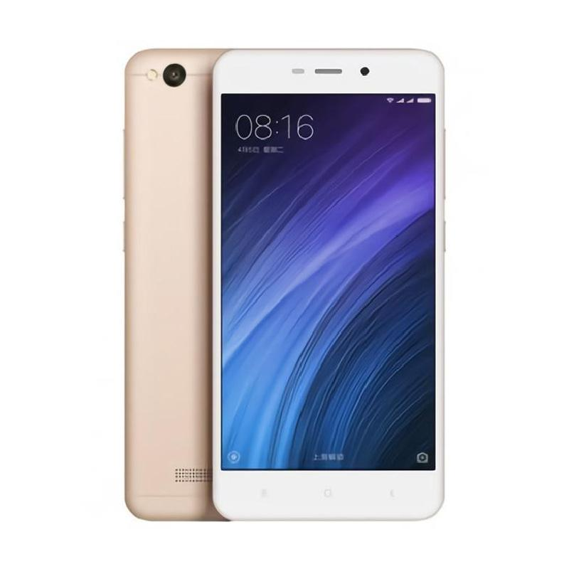 Xiaomi Redmi 4A Smartphone - Gold [32GB/ 2GB/ Garansi Resmi TAM]