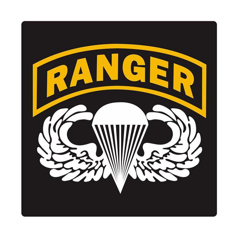 Kyle United States Army Ranger Airborne Cutting Sticker