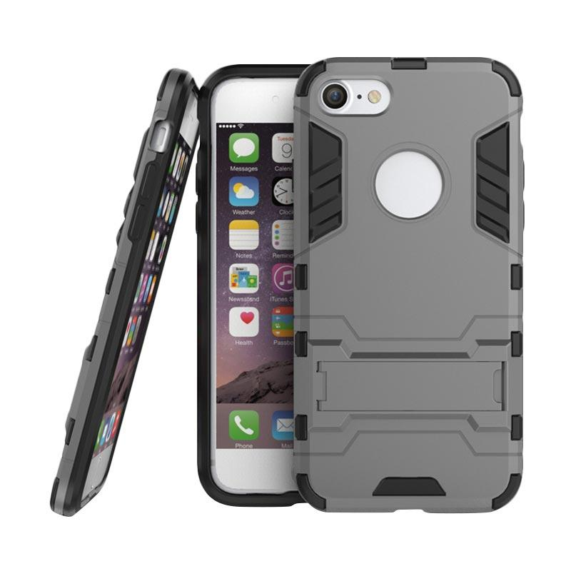 OEM Transformer Robot Iron Man Casing for iPhone 5 - Grey