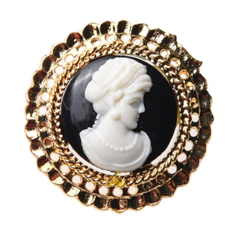 1901 Jewelry BR.1503.HR42 Queen 1503 Bros - Gold [Lapis Emas 22K]