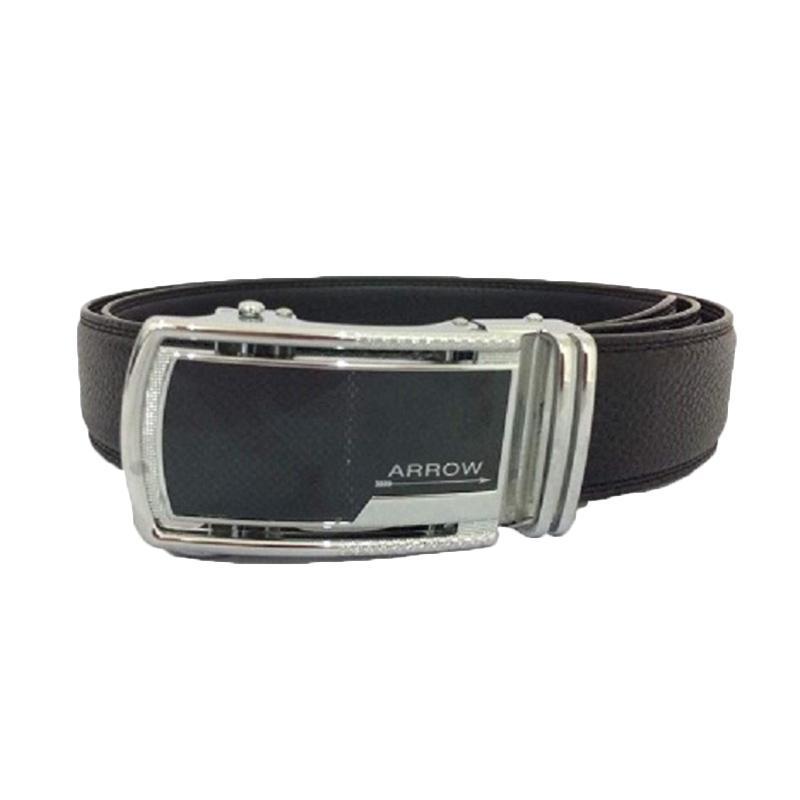 Arrow BP-AR2220SRA23-37A180-039 Leather Belt Ikat Pinggang Pria - Black
