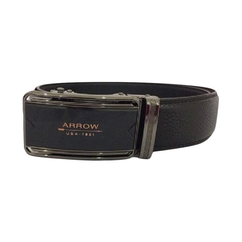 Arrow Leather Belt BP-AR2220SRA24-D36-6365 Ikat Pinggang Pria - Black