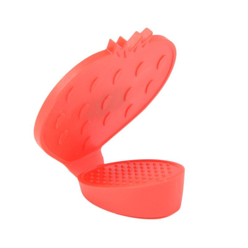 Deeneve Heat Insulation Clip Pegangan Anti Panas - Merah