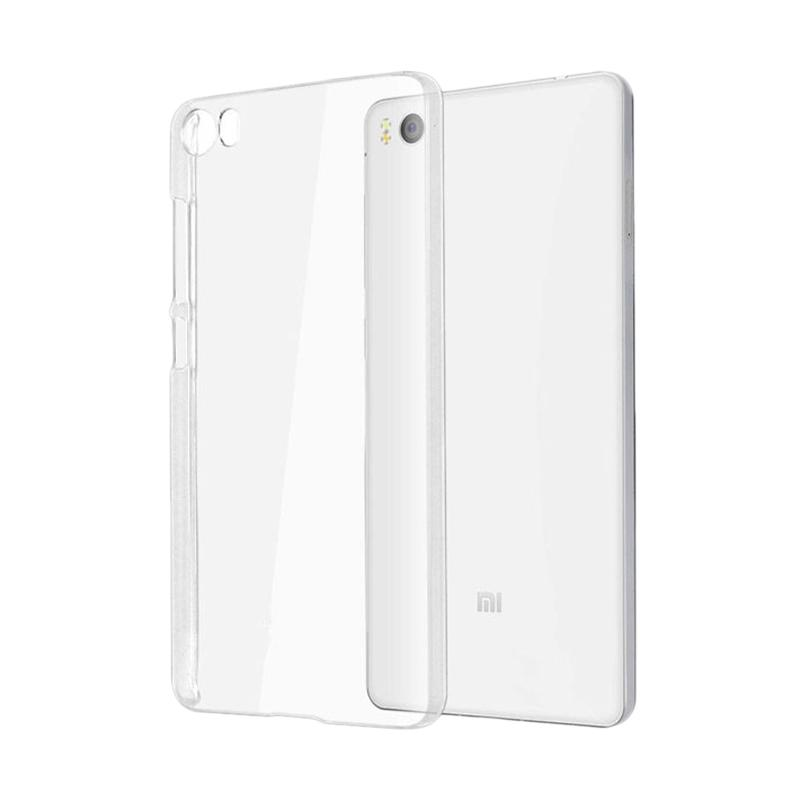 OEM Ultrathin Jelly Softcase Casing for Xiaomi Mi5 - Clear