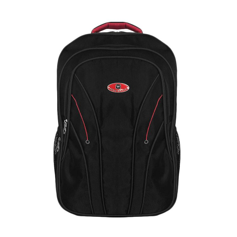 Polo Galaxy Laptop Backpack with Raincover - Hitam
