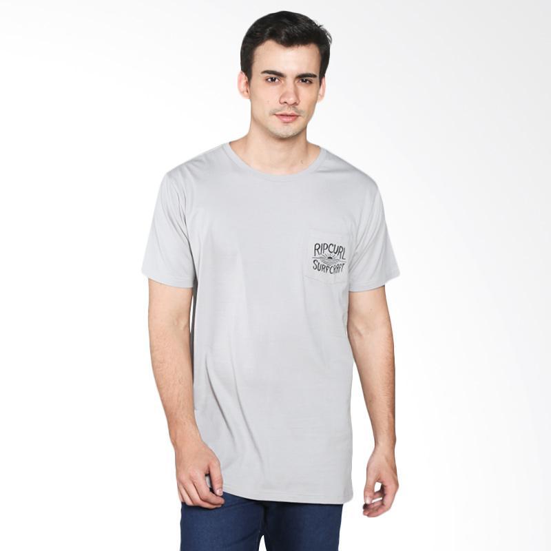 Rip Curl Single Fin Tee CTEYG1 1201 Kaos Pria - Light Grey Extra diskon 7% setiap hari Extra diskon 5% setiap hari Citibank – lebih hemat 10%