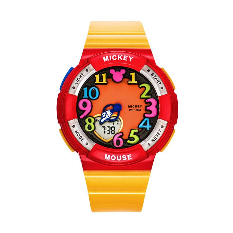 Disney MS15029-Y Mickey Jam Tangan Sports Anak - Yellow