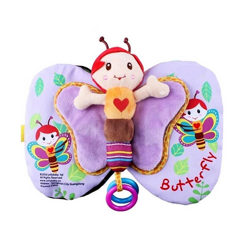 Jolly Baby Preschool Education Butterfly Book