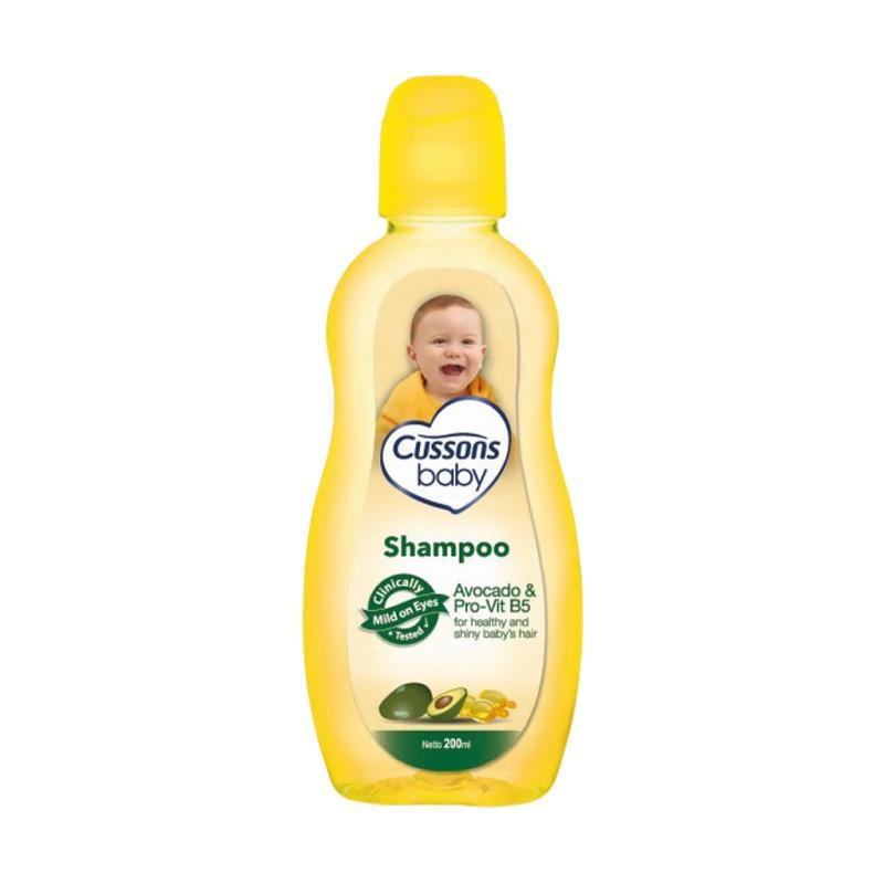 harga Cussons Baby Avocado & Pro-Vit B5 Baby Shampo Bayi [200 mL] Blibli.com