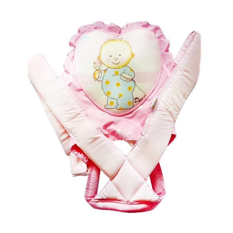Del Collection Heart Shape Gendongan Bayi - Pink