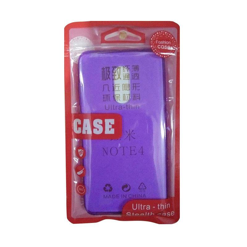 Ultra Thin Silicone Casing for Xiaomi Redmi Note 4 - Purple