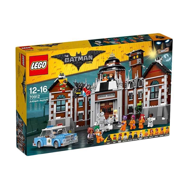 Lego Batman Movie 70912 Arkham Asylum Blocks & Stacking Toys