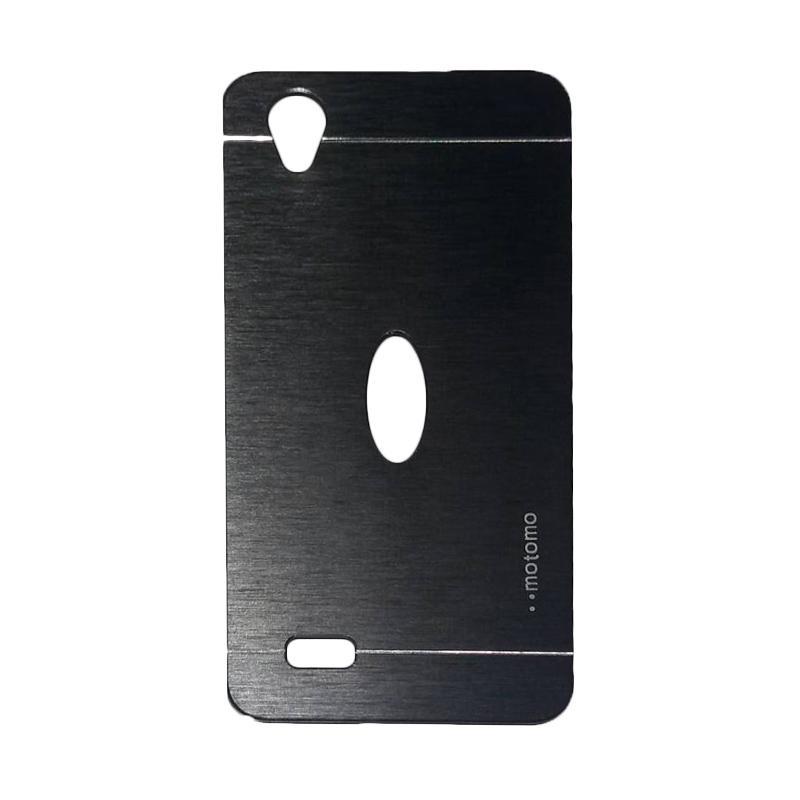 Motomo Metal Hardcase Backcase Casing for Vivo Y31 - Black