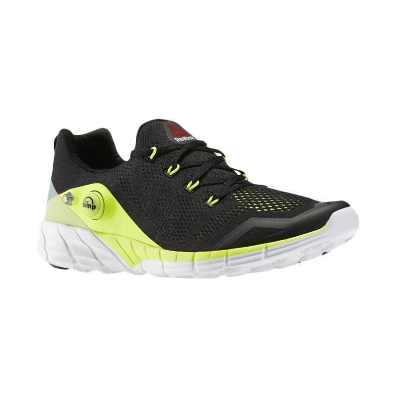 Reebok Zpump Fusion 2.0 Knit Sepatu Lari - Black Yellow 6a5ecb7e9f