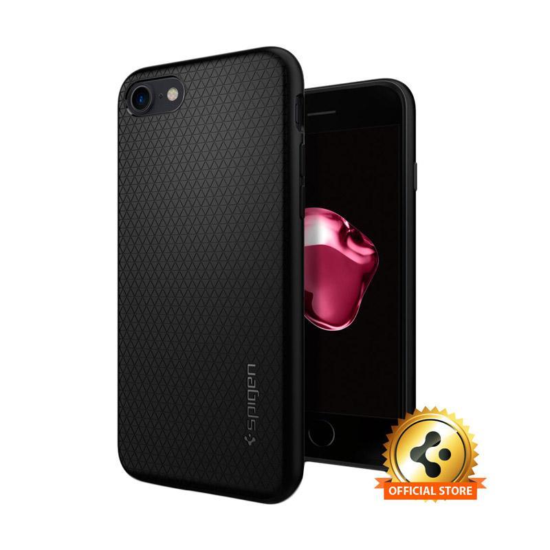Spigen Liquid Armor Softcase Casing For Iphone 7 - Black