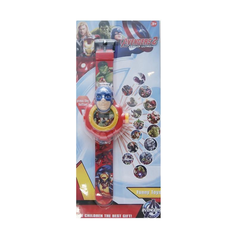 Chloebaby Shop 15 Captain S213 Jam Tangan Projector