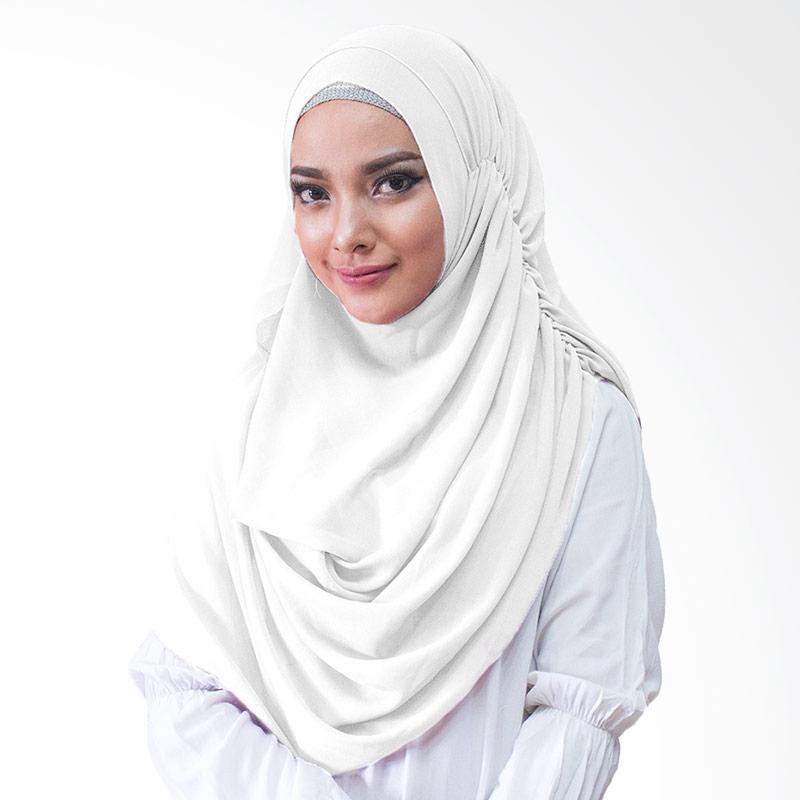 Milyarda Hijab Nurmala Kerudung Instan - Putih