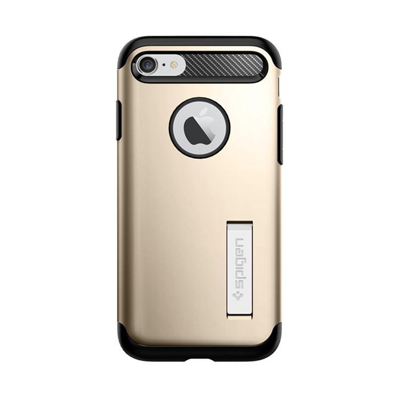 Spigen Slim Armor Original Casing for iPhone 7 - Champagne Gold