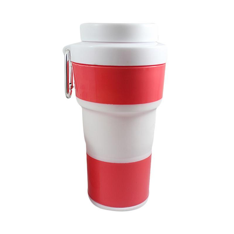 TokoKadoUnik Pocket Cup Gelas Minum Lipat - Red