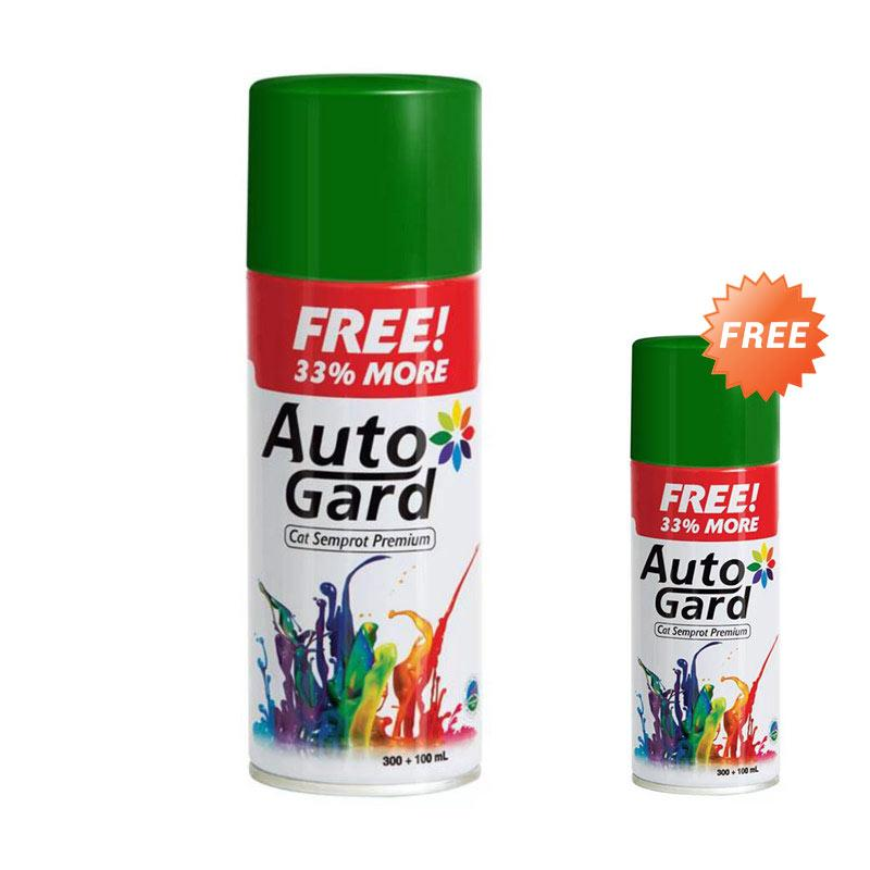 Buy 1 Get 1 Autogard AG-85 Cat Semprot standard - Green [300 mL]