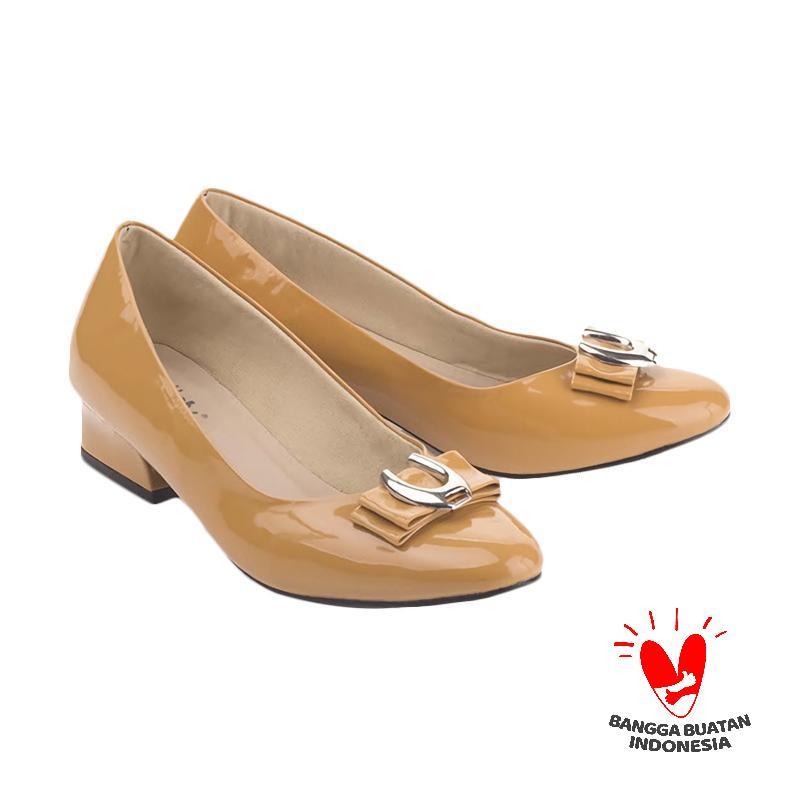 Blackkelly LDD 515 Sepatu Formal Wanita - Brown Yellow